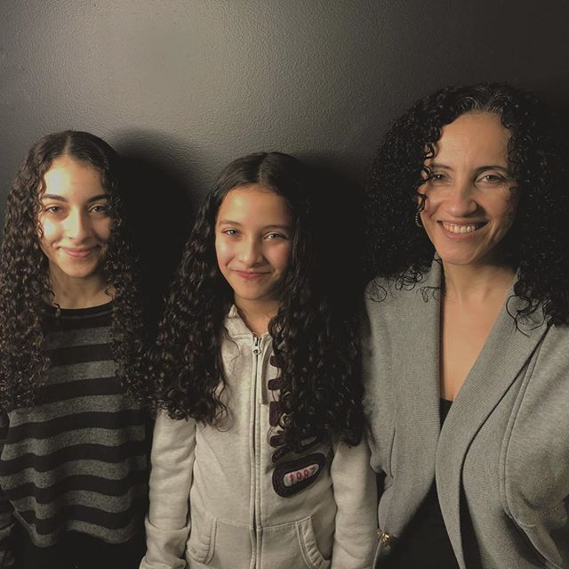 The curly genes are strong in this family!  #yeg #devacurl #curlyhair #curlynaturalhair #yegsalon