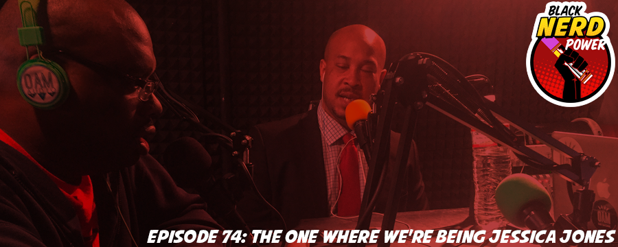 This week we welcome friend to the show, Josh McLane to sit in with us. This week we rave about Marvel's 'Jessica Jones' and clutch our pearls as we watch our favorite Doctor become someone we hate and why is Being Mary Jane the only thing Malaika is on time for? Microsoft and Volvo team up for holographic awesomeness; Cap Wolf makes a horrible return; and Taye Diggs gets served up a #Westie and the website Very Smart Brothas gets a #MNA