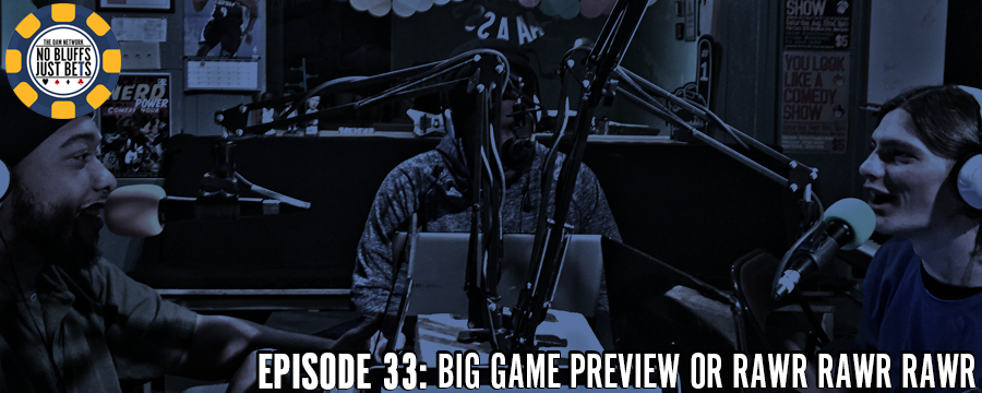 Justin and CJ are joined by Playing Hurt Podcast co-host Drew Barrett this week. The trio discuss this year's Big Game featuring the Panthers and Broncos. Who will be crowned MVP of the Big Game? Can the Broncos defense get pressure on Cam Newton? Why do they love Papa John's garlic dipping sauce so much? Find out these things and more on this week's episode of NBJB.  Help support the show by making any regular purchase @ theoamnetwork.com/amazon