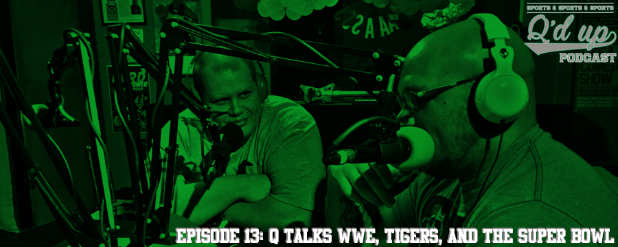 Q and CJ discuss the WWE, The Memphis Tigers, NBA 8 Seed, CJ's new nickname, and the Super Bowl. Help support the show by making any regular purchase @ theoamnetwork.com/amazon