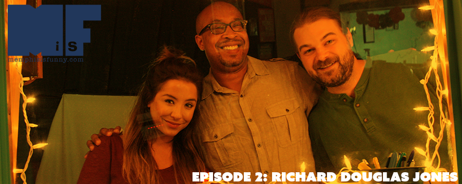 Carlie and Doug sit down with the creator and co-host of Black Nerd Power, and one of the funniest comedians in Memphis, Mr. Richard Douglas Jones!