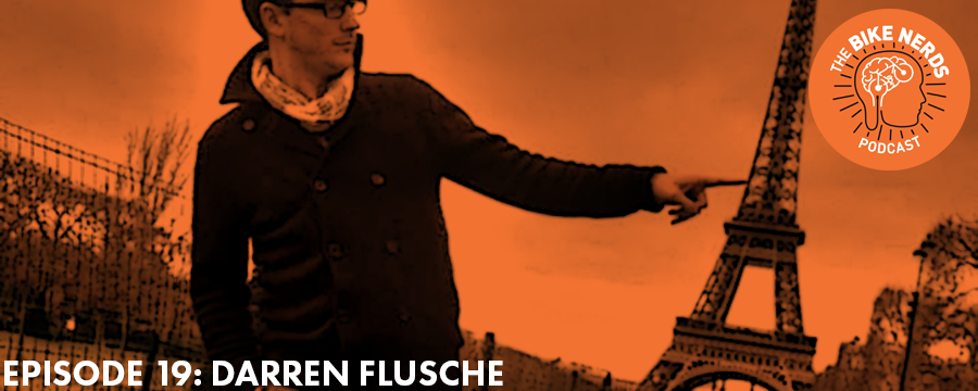 Darren Flusche, Senior Planner at Toole Design Group, joins Sara and Kyle this week to catch up on Darren's recent honeymoon visit to Germany, the current state of national bicycle advocacy, and that time Darren worked as a back-country guide/life coach/actor/chef in the mountains of New Hampshire.