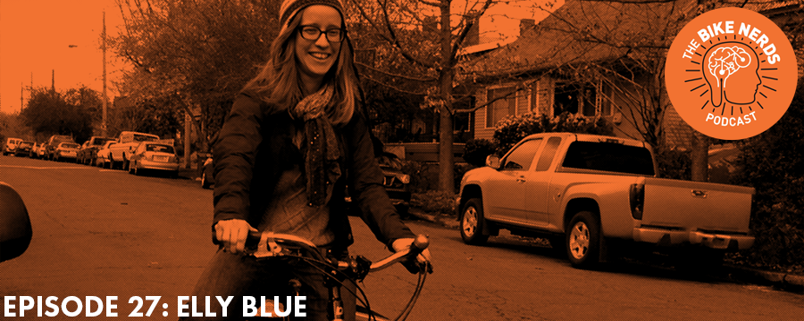 Prolific bicycle advocate, writer, and public speaker, Elly Blue joins Sara and Kyle this week to talk about the changing nature of bicycle advocacy - from its earliest inceptions at the turn of the 20th century to modern day shifts in leadership and strategic direction. The discussion touches on the ways in which feminism and racial/ethnic identities influence modern bicycle advocacy, as well as some the challenges still being faced in cities across the U.S. The end of the episode also offers some insight into Elly's far-reaching capability to carry large items by bikes, including a piece of furniture commonly found throughout American homes.