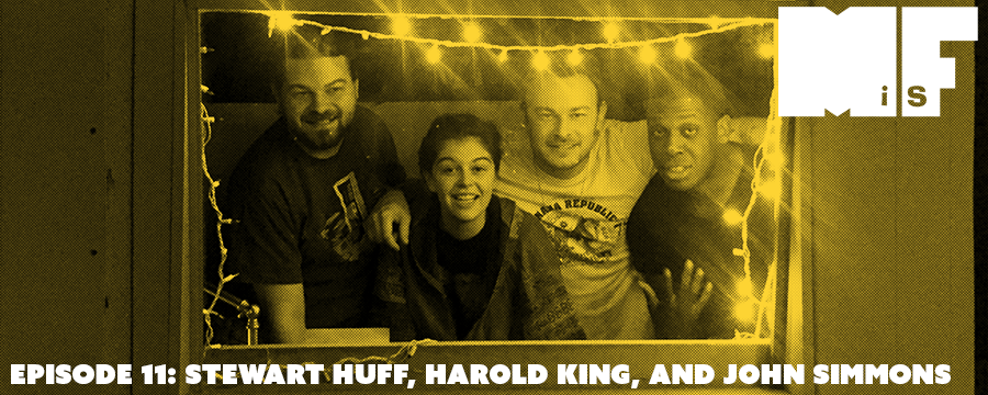 Stewart Huff calls in in advance of his Wednesday performance at the P and H, John Simmons gives a preview of Monday's Don't Be Afraid Show, and Harold King talks comedy for Memphis crowds. Featuring guest host Christine Marie.