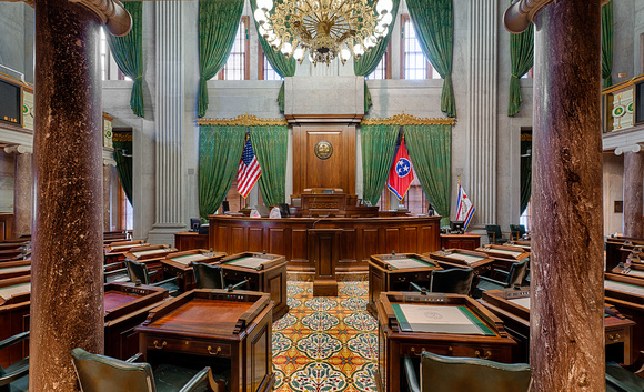 The Tennessee State Senate as it looks when bad decisions are not being made.