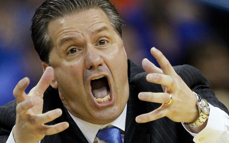 John Calipari referencing the song 'post to be' by Omarion.