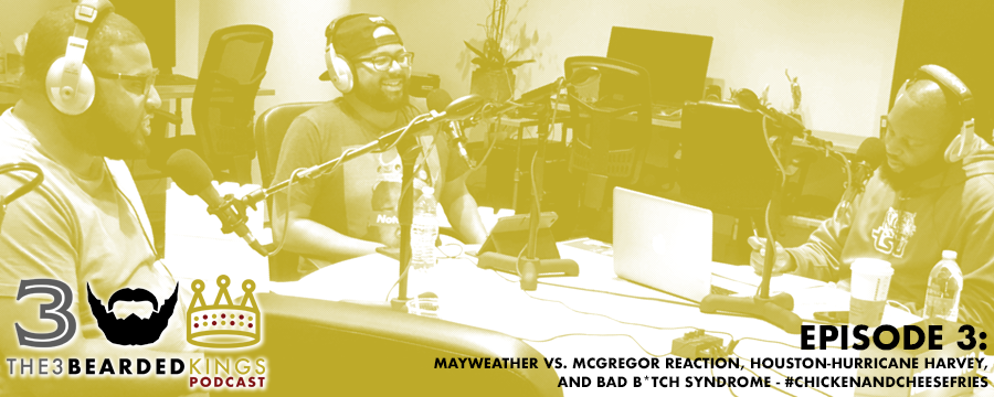 In this episode, the 3 bearded Kings analyzes the Mayweather-McGregor fight and revisits the Charlottesville, VA fiasco. In this week's Kings' Recommendations segment, Tyler recommends the Robinhood app (w ww.robinhood.com ) for those kings and queens looking to buy stock. Will recommends the Blaxcellence Instagram page ( www.instagram.com/blaxcellence ) for those kings and queens that need some additional inspiration, and Leonard recommends Nicaila Matthews' (of NPR) Side Hustle Pro podcast ( http://www.sidehustlepro.co/ ) specifically for the real bad bitches with an entrepreneurial mindset. After listening, please share this podcast with 3 friends, leave a review, and follow us on Instagram, Facebook, YouTube and Twitter.