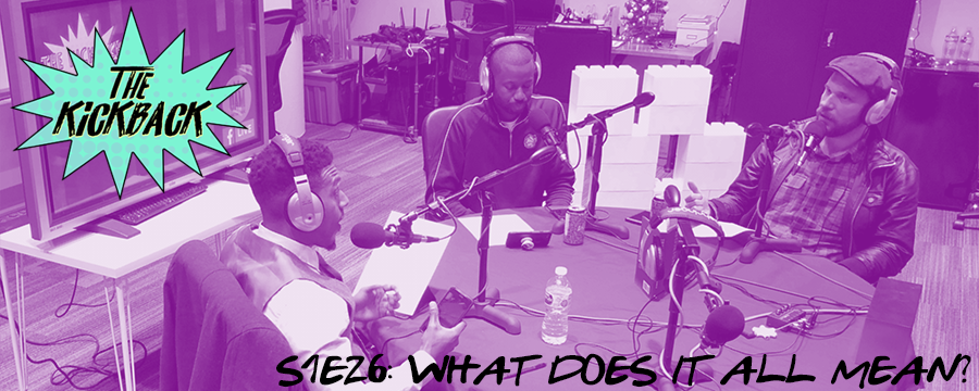 "Terez and Ezra drop by the show to talk about the outcome of the election in Alabama and what that could mean for the country. We talk about the Keaton Jones/bullying fiasco and talk about growing up in a world where you had to ""check"" to survive. We end the show by naming what we think are the definitive Christmas songs."