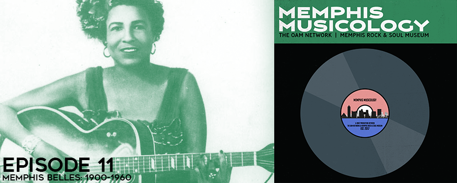 This week on Memphis Musicology, we explore the invaluable role that Memphis women played in developing, refining, and crafting the earliest forms of American music. Through the stories of Memphis Minnie, Lil' Hardin Armstrong, and Kay Starr, we'll so how these women challenges the status quo and inspired generations of future musicians of every gender.
