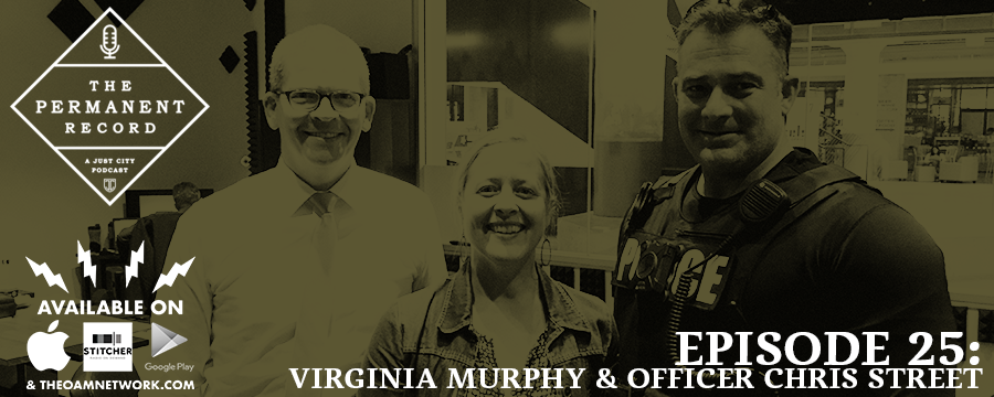Our latest episode features founder and executive director of  Playback Memphis , Virginia Murphy, and Memphis Police Officer Chris Street. Officer Street is former military and makes for the quintessential cop in appearance and pedigree. But the way he describes his job and his experiences as a police officer will surprise you. Virginia brings grace, thoughtfulness and delight to otherwise daunting situations. Those gifts have given her organization its staying power for nearly a decade. Here's to 10 more years of Playback Memphis!