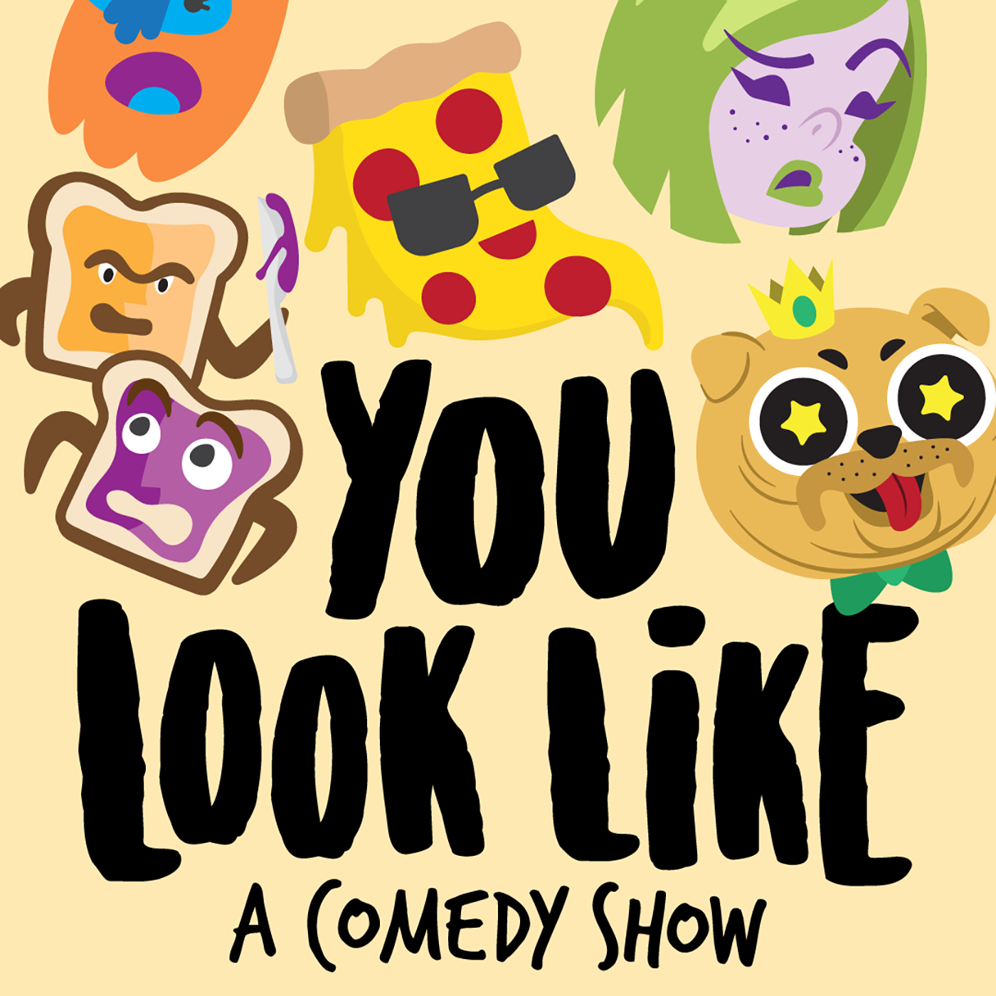 You Look Like A Comedy Show