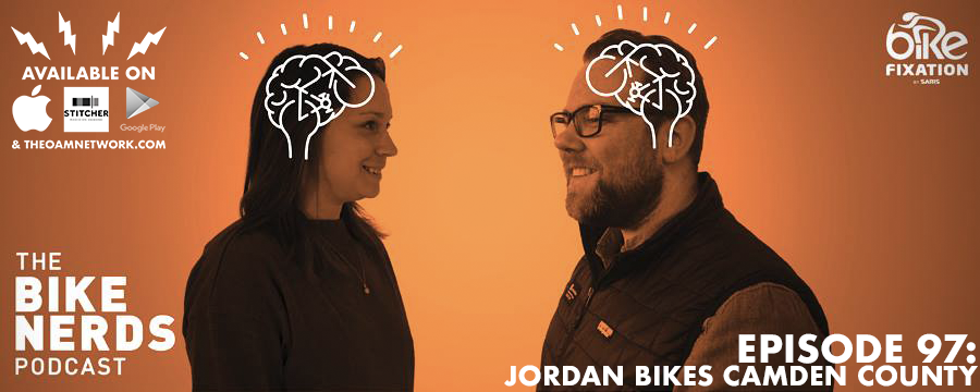 Sara takes point this week talking with Jordan Lee Miller, Chair of Bike Camden County (NJ), an official affiliate group of the Bicycle Coalition of Greater Philadelphia. Driven by a personal passion for cycling, Jordan volunteers his time as chair to help make cycling a normal activity - utilizing strategies from successful cycling programs around the country like social rides, bike share pilots, and place-based advocacy.  In the build up to the 100th episode, the Bike Nerds are seeking listener feedback on the show - they want to read your comments live on the air! Also, if you've got an idea for a closing tag line, the Bike Nerds are seeking suggestions from listeners and will pick a winner. Touch base with the Bike Nerds on Twitter, Facebook, or email to leave your feedback. Even better - leave a review on iTunes!  The Bike Nerds Podcast is sponsored Bike Fixation by Saris. Visit  www.bikefixation.com/bikenerds  for a full array of bicycle parking and infrastructure products.
