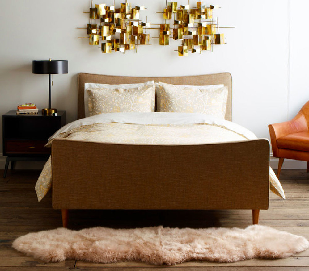 Image: Dwell Studio Swoop Bed.