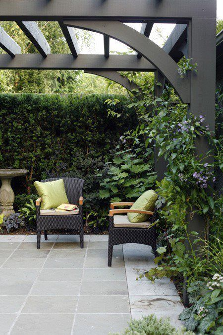 INSPIRATION - A CONTEMPORARY ARBOR ABOVE THE GATE