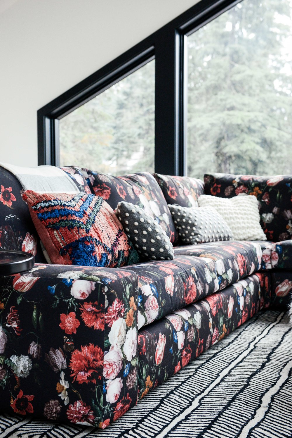 dutch floral print customized by casework