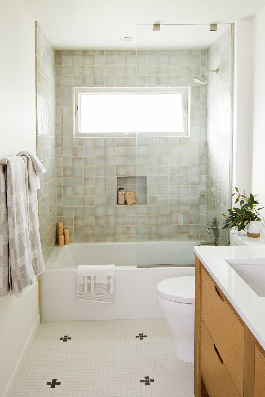 casework interior design - minimal master bath photo george barbaris