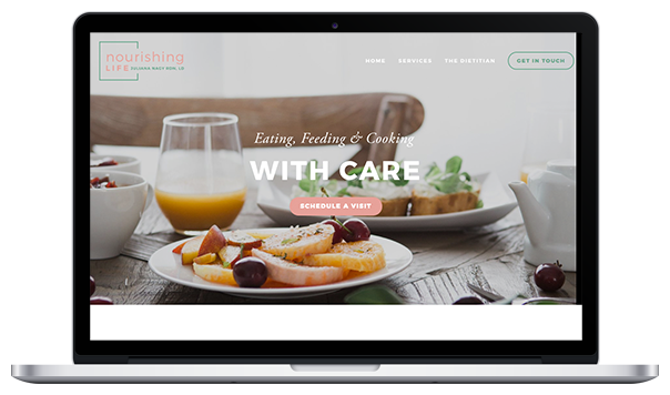 Website & Branding for Nourishing Life RDN