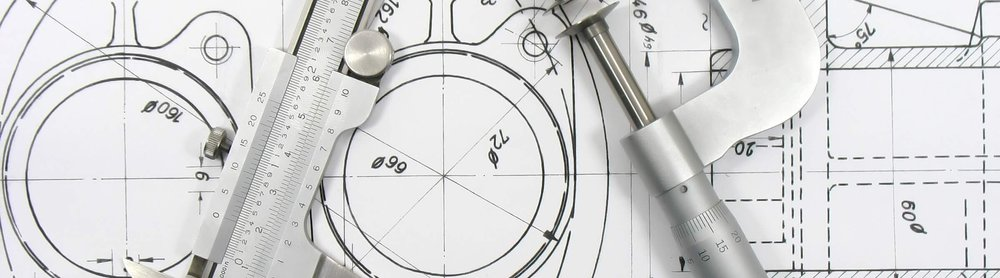 Detailed dimensioned engineering drawings and drafting services
