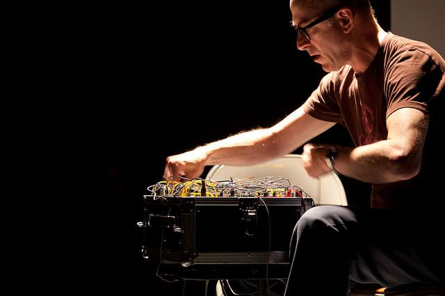Jason Kahn is a musician, artist and writer. He was born 1960 in New York and grew up in Los Angeles. He re-located to Europe in 1990 and is currently based in Zürich. As an electronic musician, vocalist and drummer Kahn collaborates regularly with many musicians, both in improvised settings and in the context of graphical scores which he composes for specific groups. Kahn has exhibited his installations in museums, galleries, art spaces and public sites internationally. These works focus on the idea of space: the conceptual and physical juncture points, its production and dissolution, and our relation to it as a political, social and environmental medium. Kahn's other activities include sound pieces for radio, film, dance and theater. He has also designed numerous CD, LP and cassette covers. As a writer, his work has appeared in books, magazines and as liner notes to many audio publications. Performing regularly around the world, Kahn has given concerts throughout Europe, North and South America, Australia, China, Egypt, Hong Kong, India, Indonesia, Israel, Japan, Korea, Lebanon, Malaysia, Mexico, New Zealand, Russia, Singapore, Taiwan, Turkey and South Africa. In 2011 Kahn started the Editions imprint to publish his own recordings and writings.
