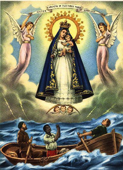 The Virgin de la Caridad de Cobre