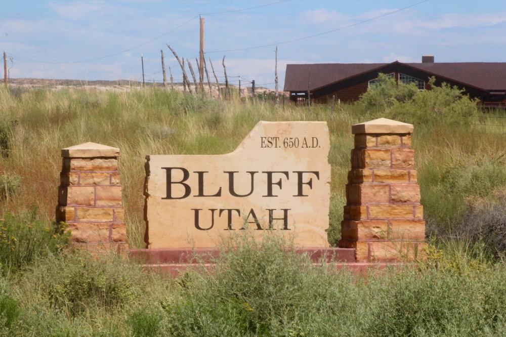 Bluff Utah - Est 650 AD
