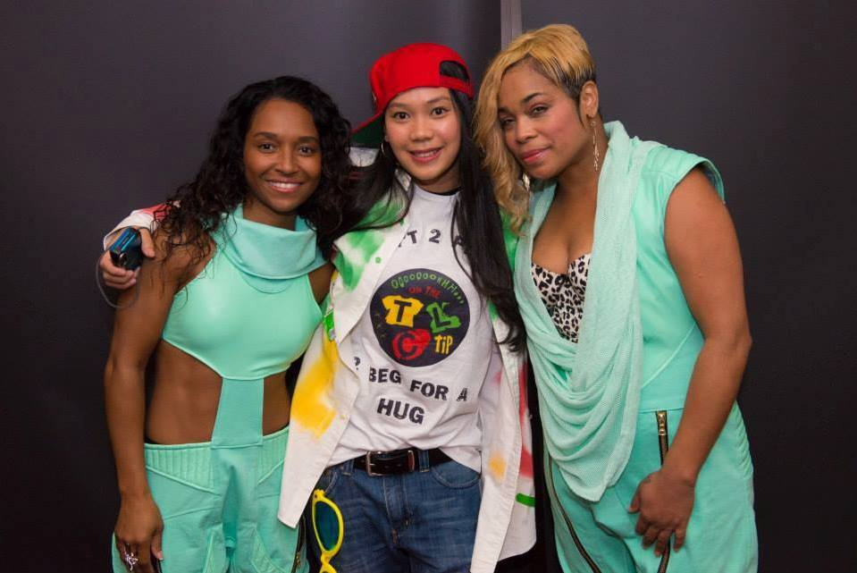 Charmaine and the girls at Sydney, Australia meet and greet