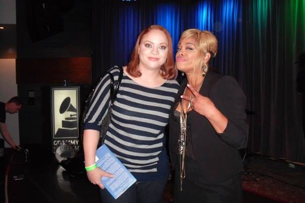 "Meg and T at ""T-Boz Unplugged"""