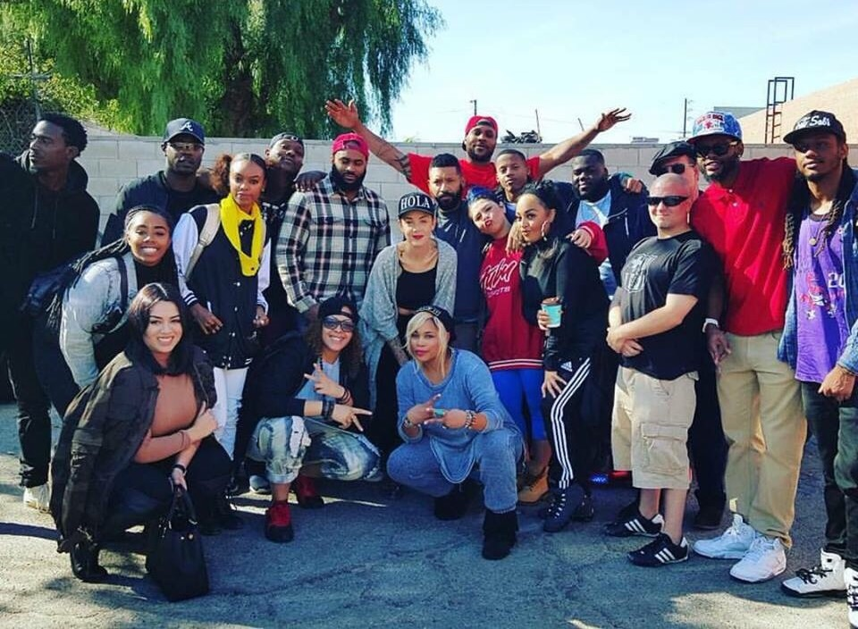 Look at ALL the AMAZING writers...producers...& musicians here in LA to write with me 2Day and alllll week until Sat for the TLC album. Thx 4 all the hard work love and support guys! #Tbeezy #TBoz #TLC #yup #tlcarmy ##Kickstarter #TLCWritingCamp