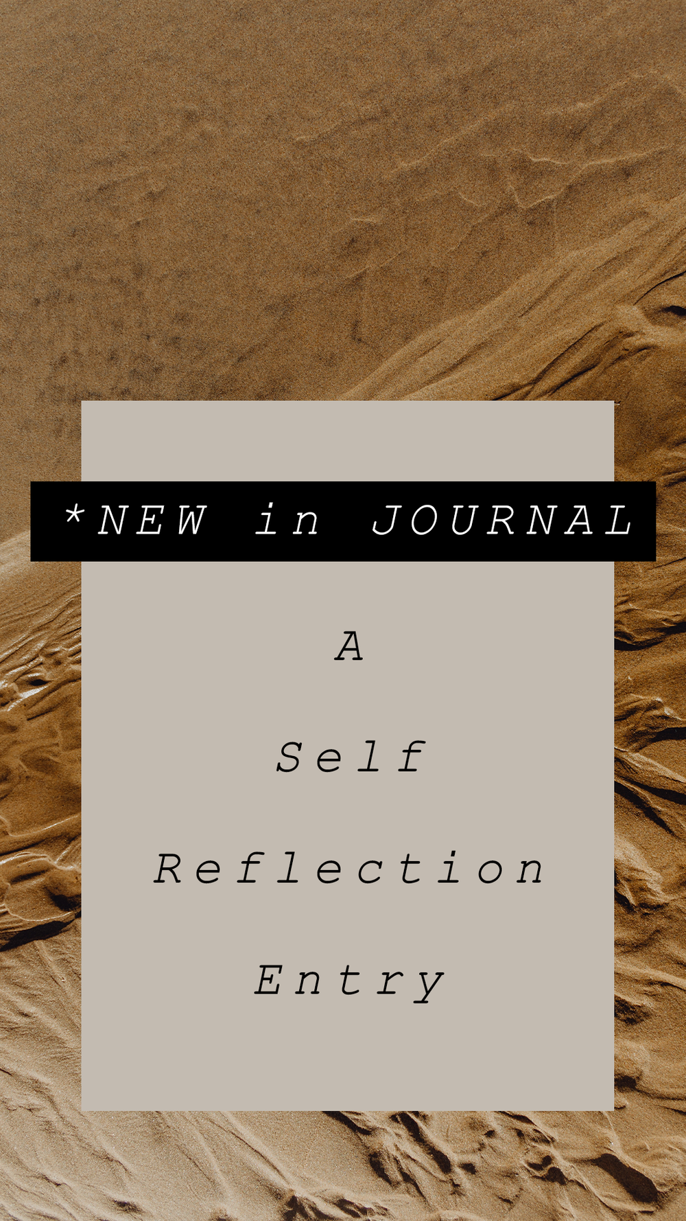 Self Reflection - Some words about my hiatus on social media and getting back in the game.