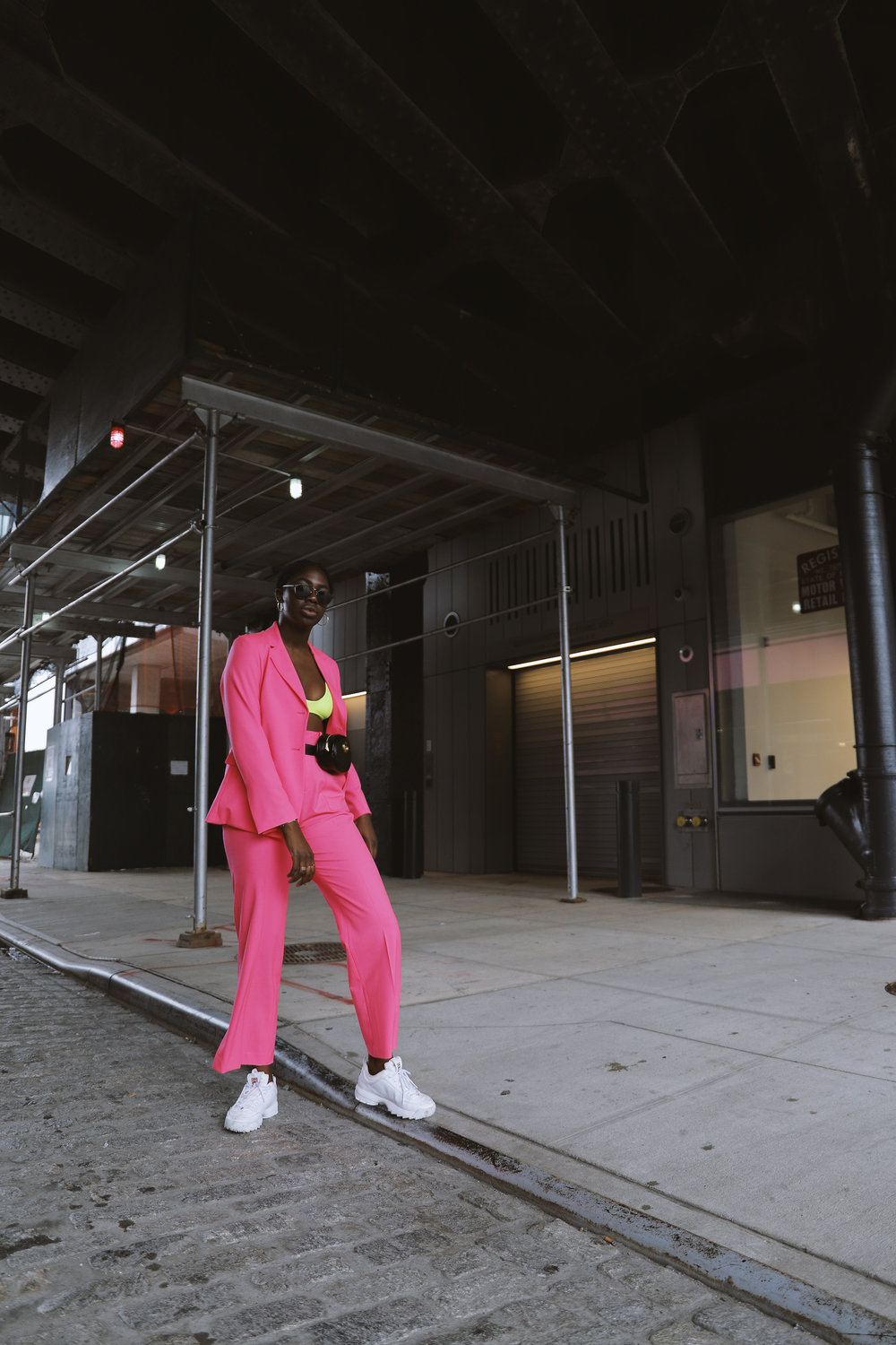 Shop the Pants - The Electric Pink Suit