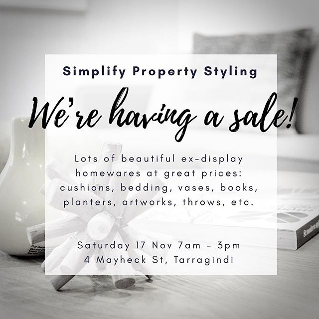 We're at it again... week 2 of our super-sale! Was great to have so many lovely people visit last weekend. #homewares #sale #simplify
