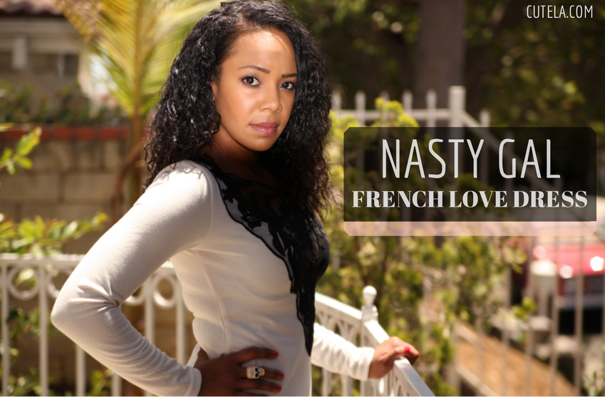 Nasty Gal French Love Dress via Cute LA
