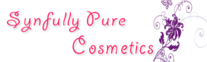 Synfully Pure All Natural Cosmetics logo