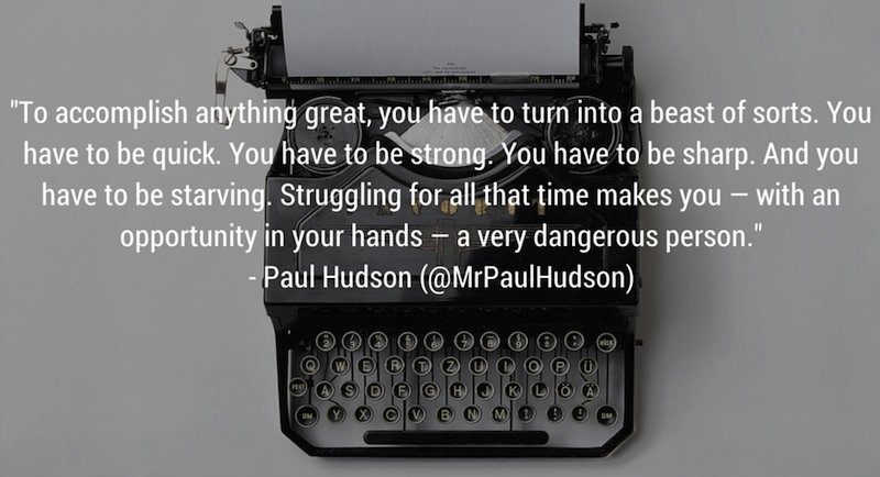 Elite Daily Writer Paul Hudson Quote Life Goals via Cute LA