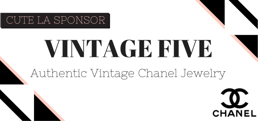 Vintage Five Authentic Chanel Jewelry via Cute LA