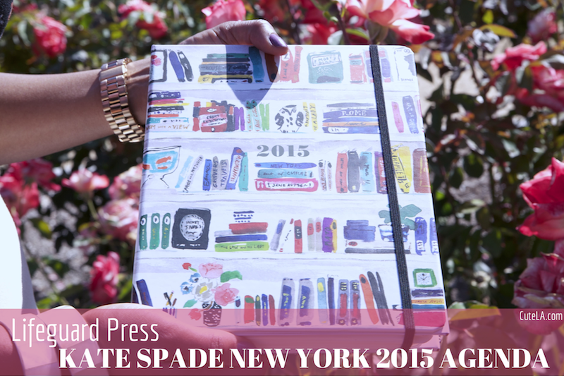 Lifeguard Press Kate Spade New York 2015 Agenda Review via Cute LA