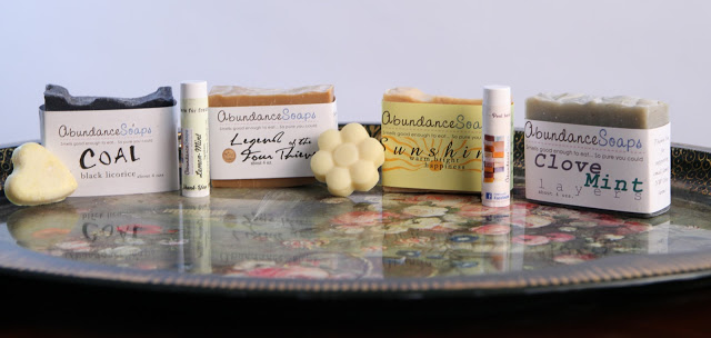 All natural brand Abundance Soap