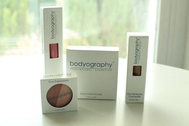 Bodyography Cosmetics Packaging