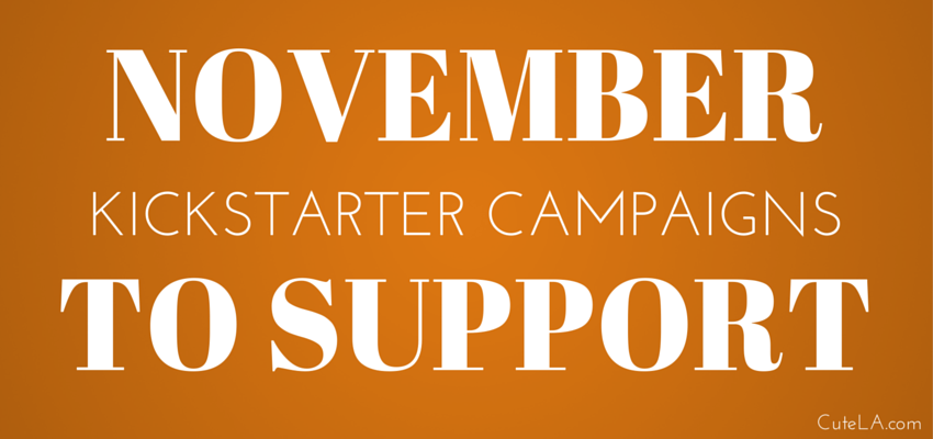 November Kickstart Campaigns To Support