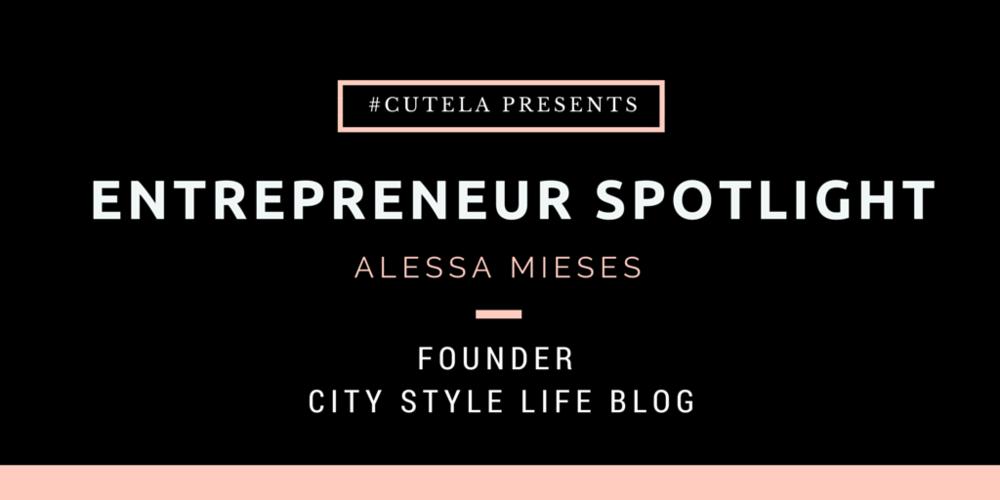 Entrepreneur Spotlight Alessa Mieses