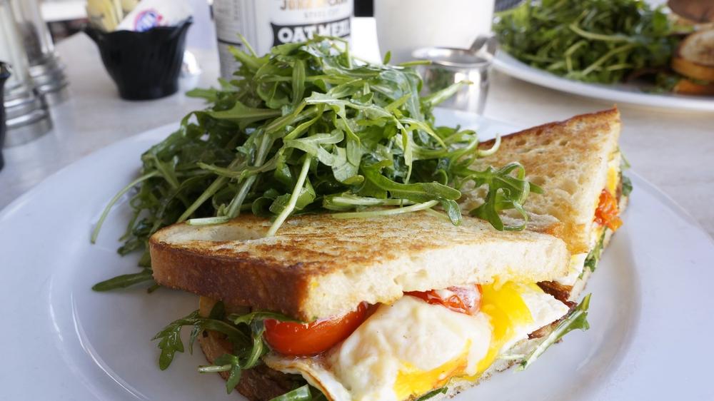 SB Breakfast Sandwich Los Angeles