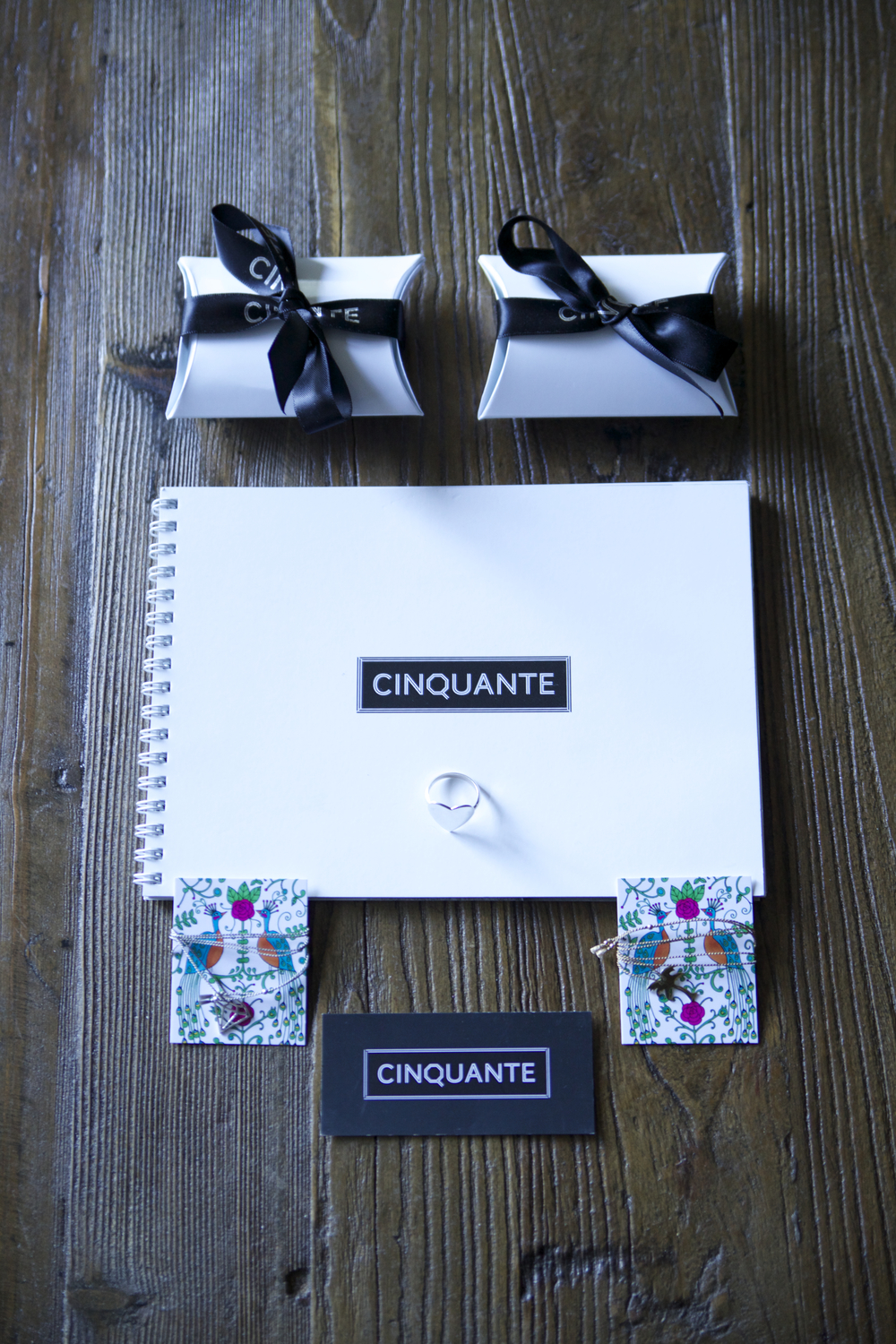 Cinquante Packaging and Branding