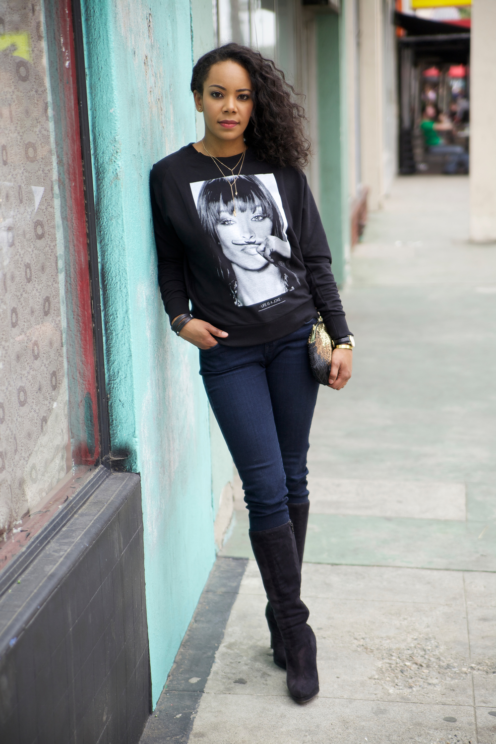 Naomi Campbell Elevenparis Jumper Sweater