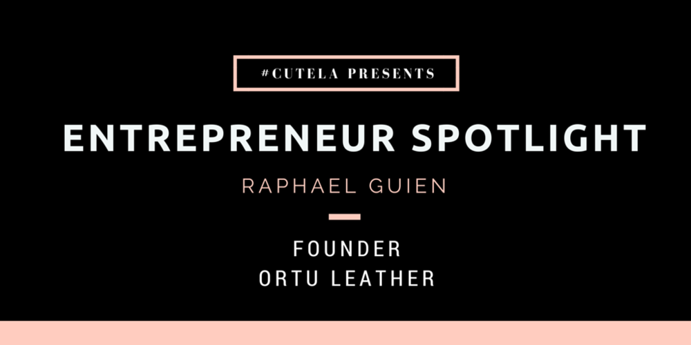 Entrepreneur Spotlight Raphael Guien