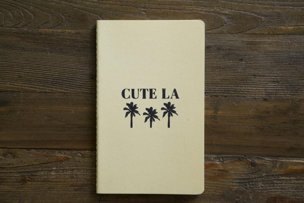 Cute LA Moleskin Notebook