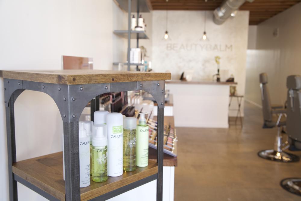 Beauty Balm Studio Interior