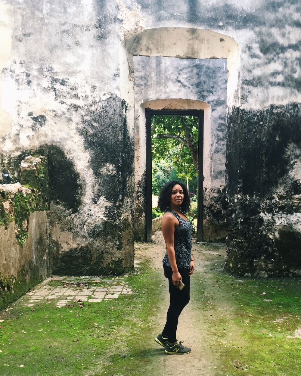 Tiffy Diamond Ruins Campeche Mexico