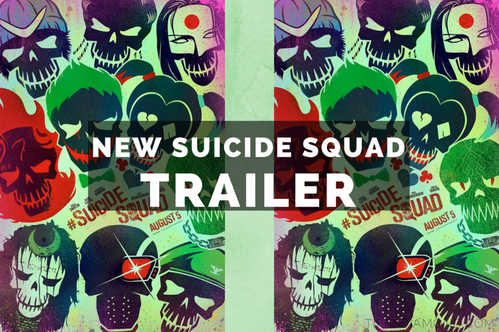 New Suicide Squad trailer 2016