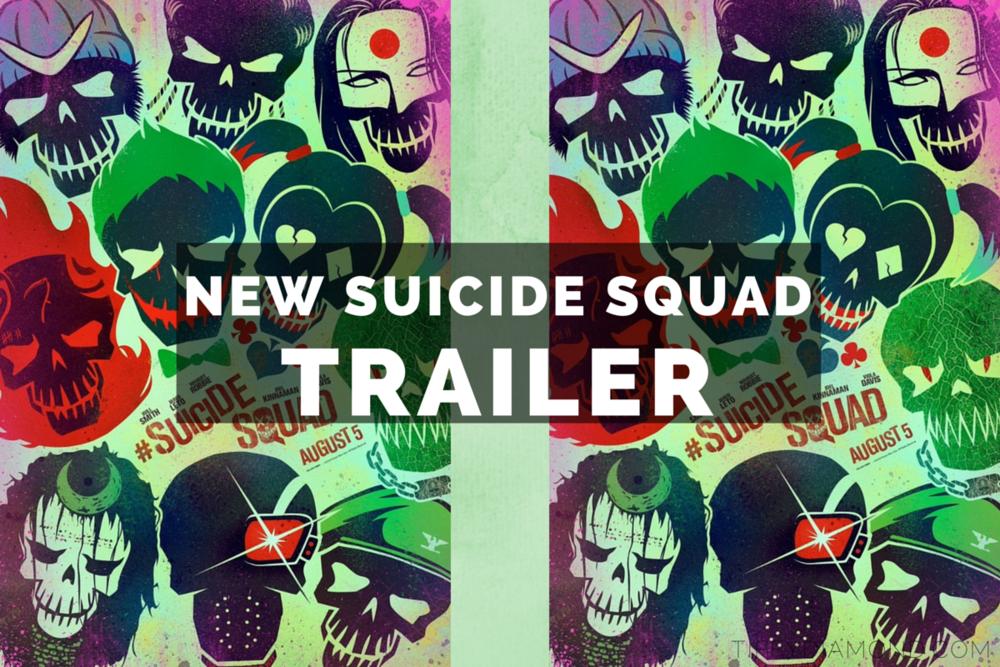 New Suicide Squad trailer 2016