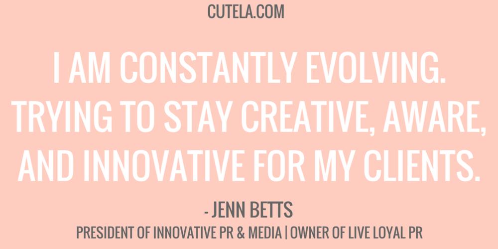 Jen Betts President Innovative PR